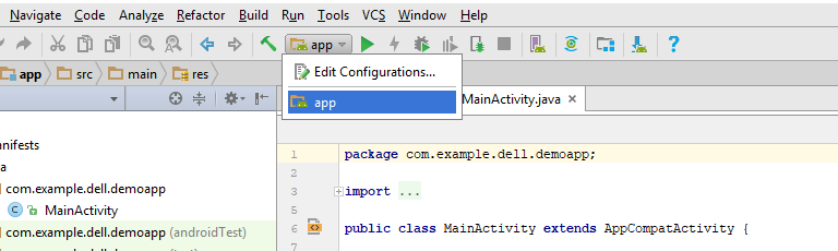 The Activity Must be Exported - Android Studio