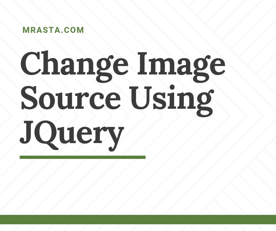 Change Image Source using JQuery