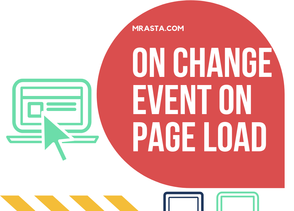 Jquery Trigger Change Event | Jquery Onload Function